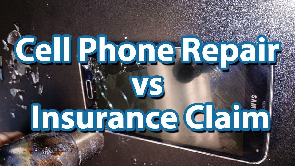 cell phone repair is better than insurance