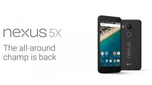 Nexus 5X Smarphone