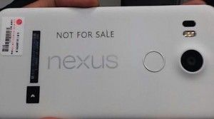 Nexus 5X Back Fingerprint Sensor