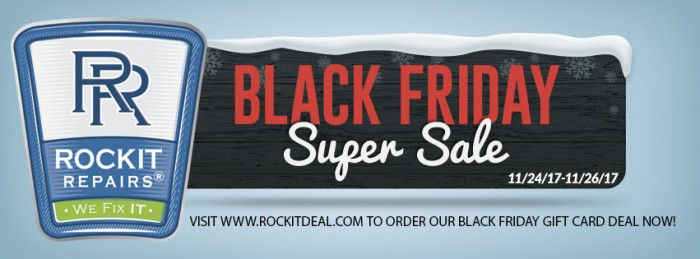 BLACK FRIDAY ROCKIT REPAIR EMAIL TOP IMAGE