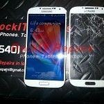 Samsung Galaxy S4 Front Cracked Glass Replacement