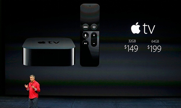2015 Apple TV model