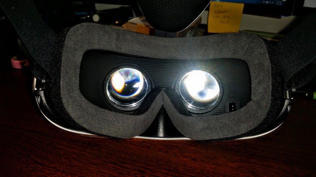 Gear VR S6 & S6 Edge Innovator Edition Eye Lens View