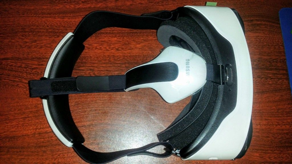 Gear VR S6 & S6 Edge Innovator Edition Top View